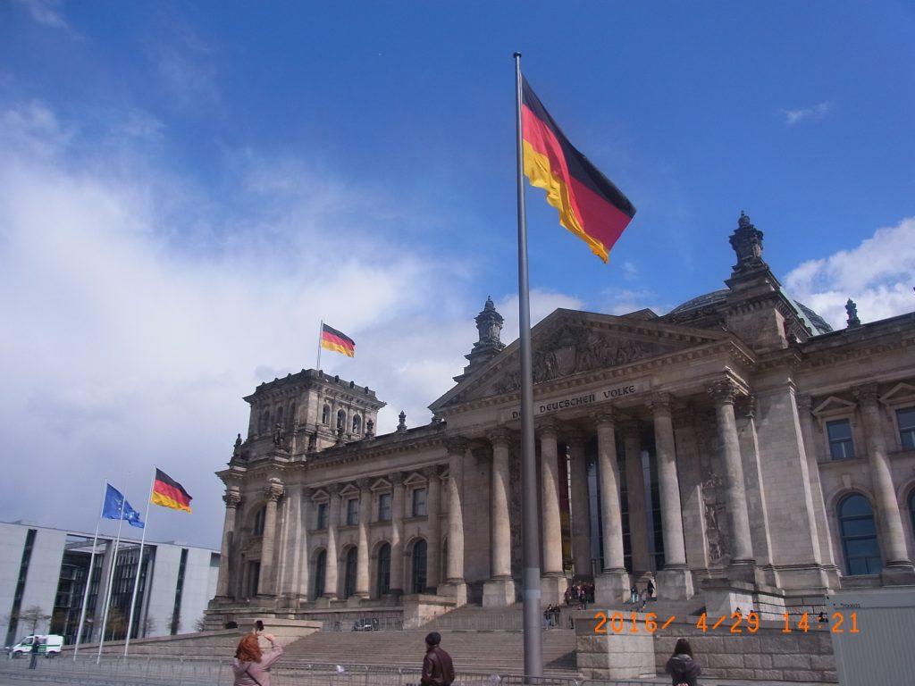 ドイツの国会議事堂