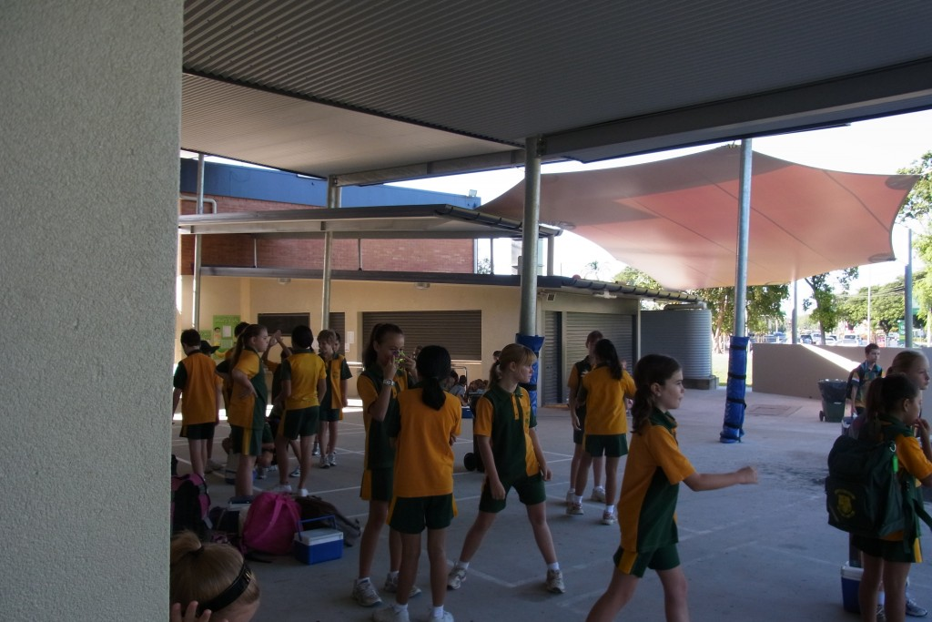 ケアンズの小学校 朝の時間