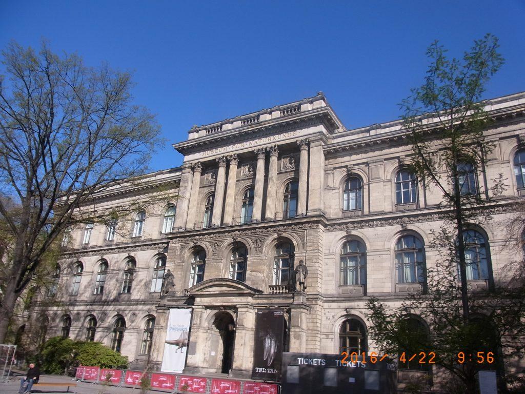 ベルリンの自然科学博物館