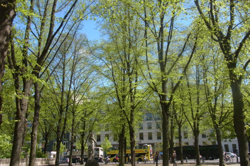 春のベルリン