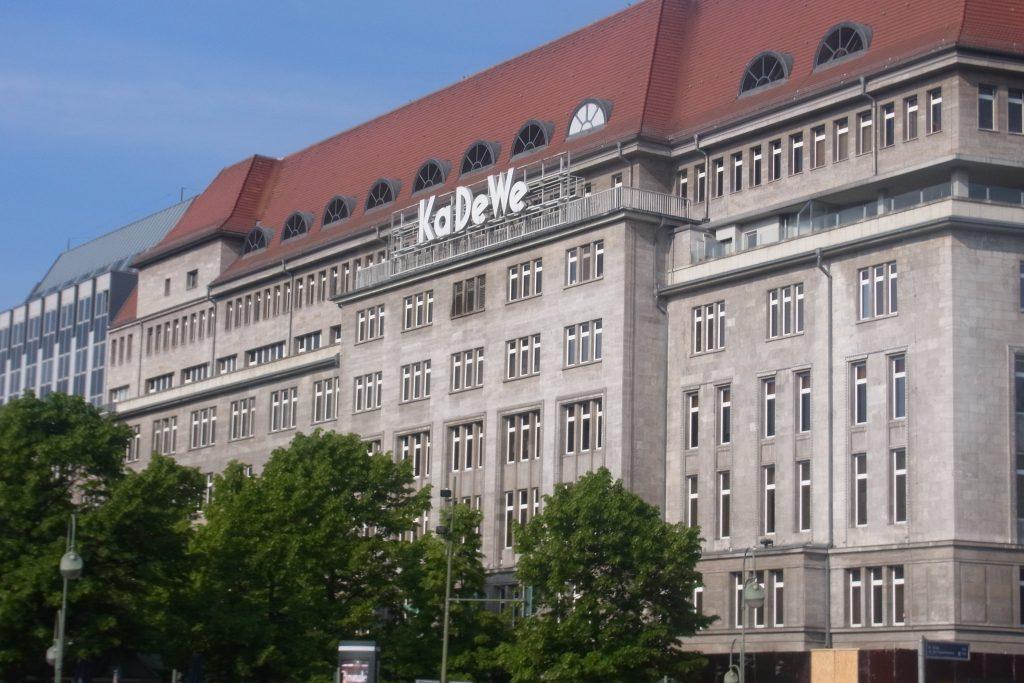 旧西ドイツの象徴のデパートKaDeWe